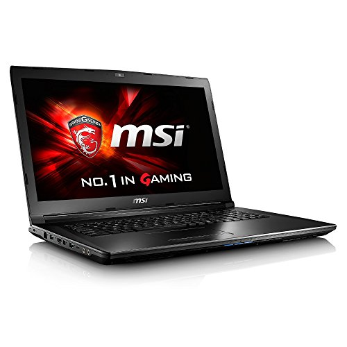 MSI GL62 6QF 1089UK 15.6-Inch Gaming Notebook (Black) - (Intel i7 6700HQ, 16 GB RAM, 128 GB SSD, 1 TB HDD, GTX 960M Graphics Card, Windows 10)