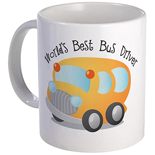 CafePress - World's Best Bus Driver - Coffee Mug, Novelty Coffee Cup