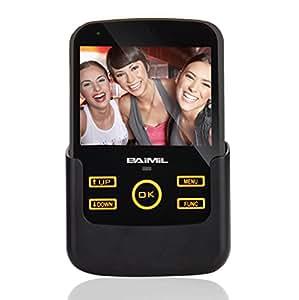 Malo electronic monitor lcd 3 5 con telecamera di - Spioncino porta con telecamera ...