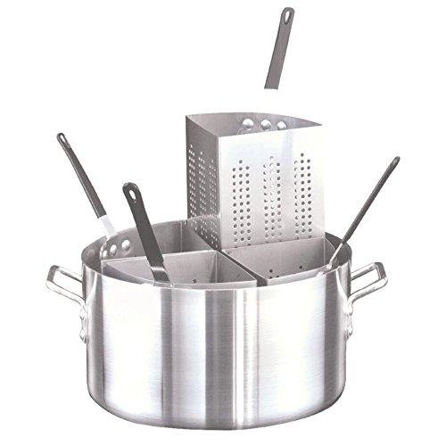 Adcraft PASTA-4 20 Qt. Aluminum Pastabilities Pasta Cooker