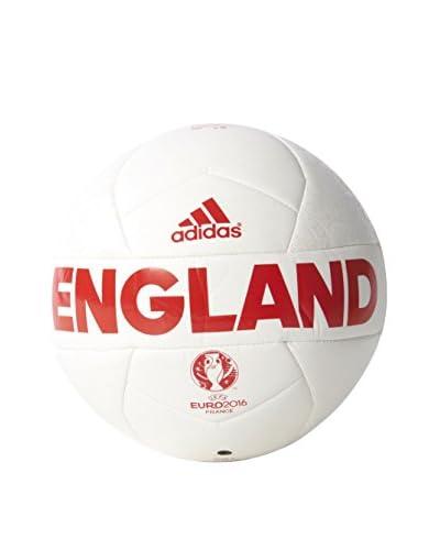 adidas Balón de Fútbol EURO16 England Mini Blanco / Rojo