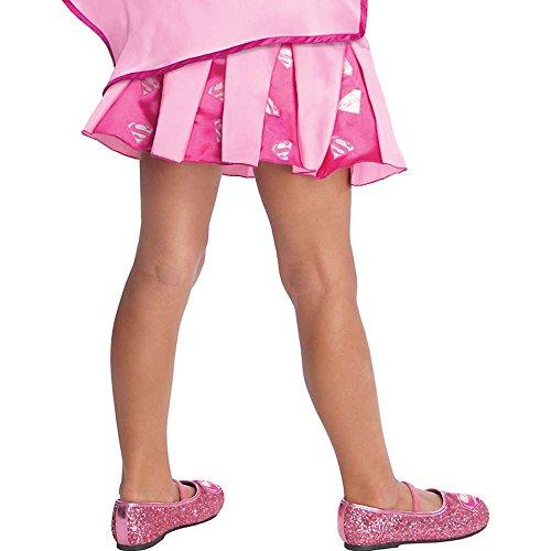 [My Super Best Friends Supergirl Pleated Skirt With Puff Hanger] (Toddler Supergirl Tutu Set)