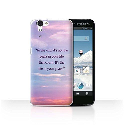STUFF4 Phone Case / Cover for Sharp Aquos Zeta SH-01F/Docomo / Abraham Lincoln Quote Design / Vivid Ombre Collection (Docomo Sharp Aquos compare prices)