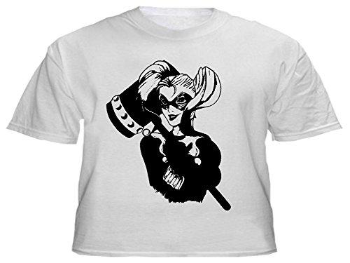 Para-hombre-cool-Harley-Quinn-T-camiseta-de-manga-corta-Cool-diseo-de-NumbTs-procedentes-de-los-archivos-de-vinilo-decorativo-diseos-T-shirts-y-pegatinas
