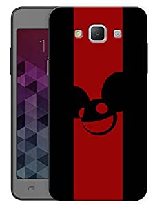 "Humor Gang Deadmau5 Minimal Edm Printed Designer Mobile Back Cover For ""Samsung Galaxy E5"" (3D, Matte, Premium Quality Snap On Case)"