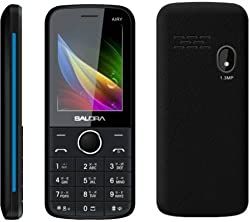 Salora KT24 Plus Airy (Black and Blue) Phone_Made In India
