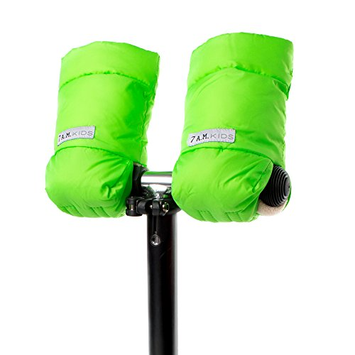 7AM Enfant Kids WarMMuffs, Neon Green, Small - 1