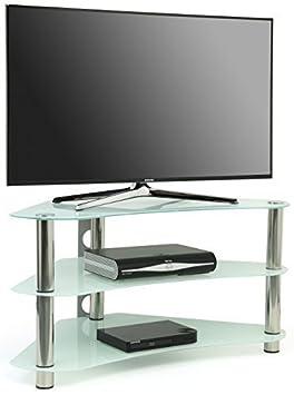 "Centurion GT7 - Mueble de cristal para pantalla plana de TV (22 - 43"")"