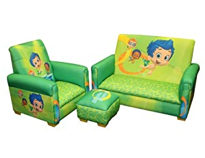 Nickelodeon 3 Piece Toddler Set, Bubble Guppies Fintastic by Nickelodeon