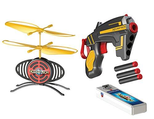 Giochi Preziosi - Hovertech Battle Fx, Drone Volante Completo di Bersaglio con 1 Pistola e 3 Dardi