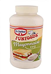 Fun Foods Spreads - Mayonnaise (Veg), 500g Botttle