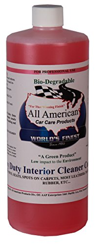buy now all american car care products heavy duty interior cleaner concentrate 32 ounces best. Black Bedroom Furniture Sets. Home Design Ideas