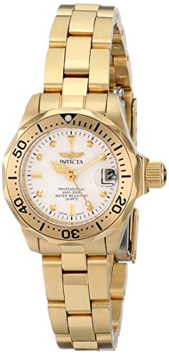 Invicta Women'S 8945 Pro Diver Collection Gold-Tone Watch front-777871