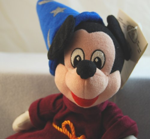 Disney Mini Bean Bag Fantasia Sorcerer Mickey - 1