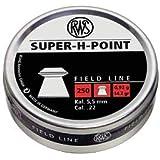 RWS Super-H-Point .22 Cal, 14.2 Grains, Hollowpoint, 250ct