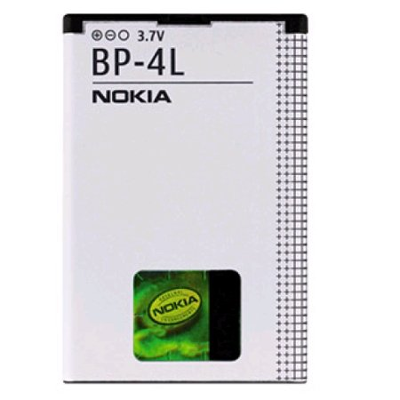 41okl4vEbiL Nokia BP 4L Standard Battery for Nokia N97, E63, E71, E71x, E72, E73, E90, N810, and WiMax
