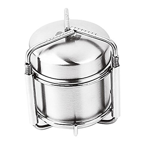Stainless Steel Alcohol Stove(Capacity:100Ml Alcohol) front-408388