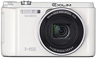 CASIO デジタルカメラ EXILIM EXZR1300WE 16.1M画素 自分撮りチルト液晶 5軸手ブレ補正 EXZR1300 ホワイト EX-ZR1300WE