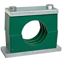 "Brennan CPS Series Steel Pipe Clamp, 1"" Band Width, 1.315"" Maximum Diameter"