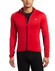 Pearl iZUMi Men's P.R.O. Aero Jacket,True Red/Black,X-Small