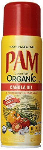 Pam Organic Canola Oil No-Stick Cooking Spray - 5 oz (Pam Spray Oil compare prices)