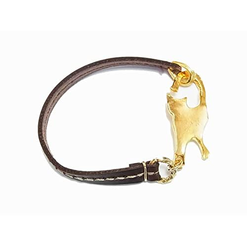 (パルナートポック)Palnart  ねこブレスレット (ゴールド) 猫 ネコ アクセサリー かわいい 個性的 シルエット アニマル 動物 【Brough Superior/ブラフシューペリア】
