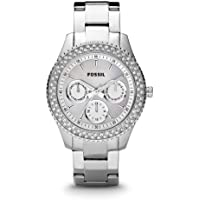 Fossil Stella Analog Silver Dial Women's Watch - ES2860
