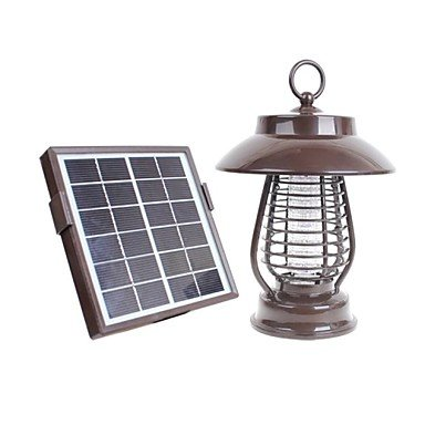 Outdoor Solar 16Leds Garden Yard Zapper Pest Insect Mosquito Killer Lamp Light