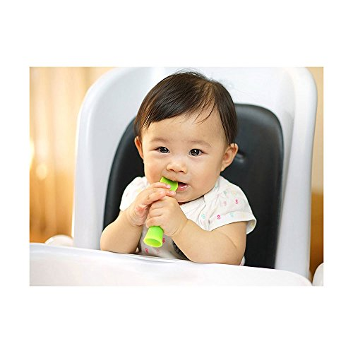 OlaSprout Bendable Baby Training Spoon Teether 2pk