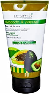 Petal Fresh Organic Eco-Elements Facial Masque, Avocado and Papaya, 5 Ounce