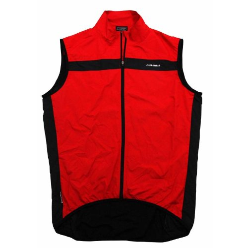 Polaris Racelite Gilet Red/Black X-Small