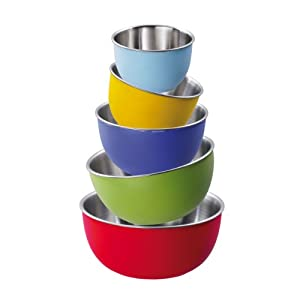 Amazon.com: King Colori S66C Bowls 5-Piece Set 11 / 13 / 15 / 17 / 19