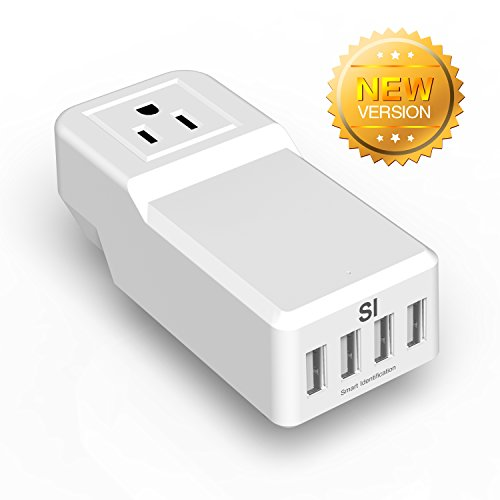 Why Choose Levin 25W 5A Mini USB Charger with 4 USB Ports for iPad, iPhone, Android, Windows Phones,...