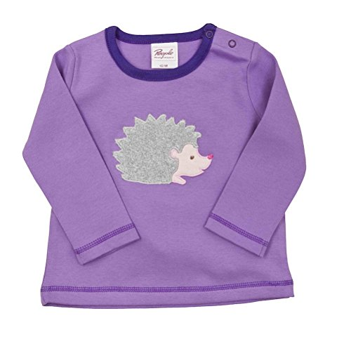Bb-T-shirt-la-avec-motif-violet-Bio