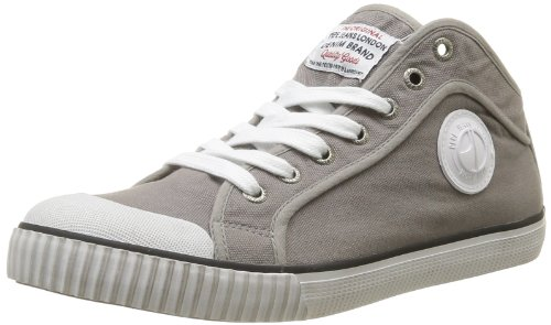 Pepe Jeans Mens Industry IN-291 D High-Top PMS30011 Argent 44 EU/9.5 UK