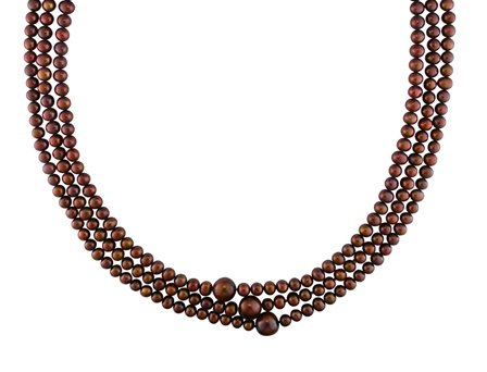 Freshwater Brown Pearl Necklace (100 in) (9-10mm)