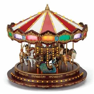 Mr Christmas Carousel.Mr Christmas Gold Label Collection Grand Royal Marquee