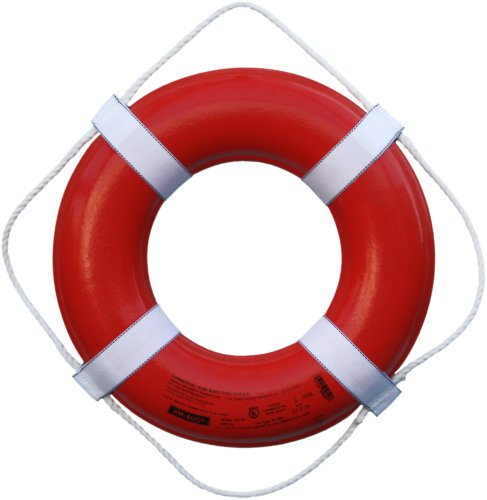 Cal June USCG Approved Ring Buoy (20- Inch Diameter,