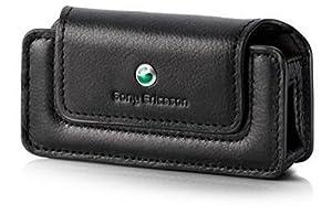 Sony Ericsson ICE-45 Ledertasche schwarz klein