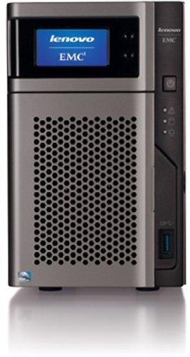 Lenovo EMC px2-300d Network Storage Server Class (2TB (2HD x 1TB) EMEA, Intel Atom D525, 2x HDD, 1,8GHz, 2GB RAM)