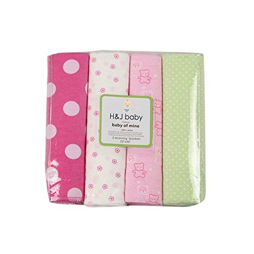Harson&Jane premio qualità 100% cotone mussolina impronte morbida e confortevole copertine 4 pezzi con 30 × 30 cm