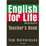 English for life Beginner : Teacher's book (1C�d�rom)par Tom Hutchinson