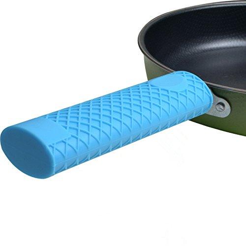 gangnumsky-Kitchen Pan Pot Handle Heat Insulation Cookware and Bakeware Accessories Silicone Pot Handle Anti Scald Sets DIY Pot Decor Set