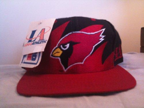 Arizona Cardinals Original Sharktooth Snapback Hat by Logo Athletic