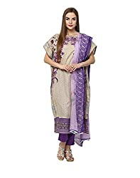 Yepme Women's Multi-Coloured Blended Semi Stitched Suit - YPMRTS0326_Free Size