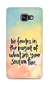 AMEZ be fearless i the pursuit Back Cover For Samsung Galaxy A5 (2016 EDITION)