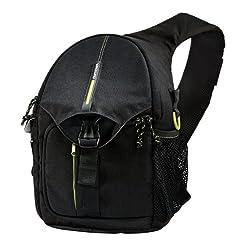Vanguard BIIN 37 Sling Bag for DSLR Camera (Black)
