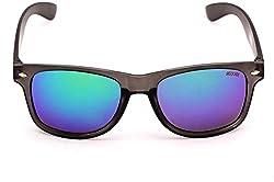 Beqube Stunning Mirror Unisex Sunglasses (Green )