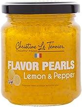 Christine Le Tennier Lemon amp Pepper Flavor Pearls 7oz Jar