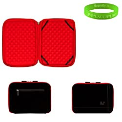 Sumaclife-Laptop Tablet Sleeve (Red)